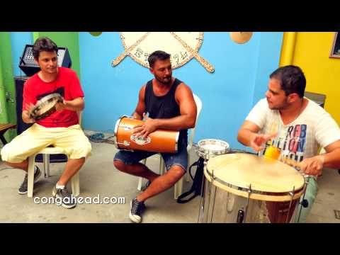 Percussão Da Roda De Samba performance with Luiz Augusto, Thiaguinho Castro, & Bernardo Aguiar Pandeiro De Nylon & Tantã Luiz Augusto Pandeiro De Nylon & Sur...