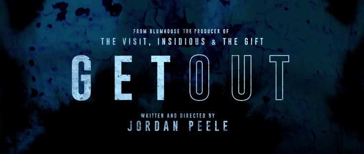 Get Out is a 2017 American psychological thriller written and directed by Jordan Peele and produced by Jason Blum (The Visit,Insidiousfranchise;The Gift). The film premiered at Sundance Film Fes…