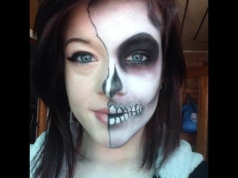 how to skeleton face makeup google search - Skull Face Painting Ideas For Halloween