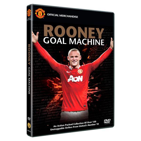 Wayne Rooney Goal Machine DVD