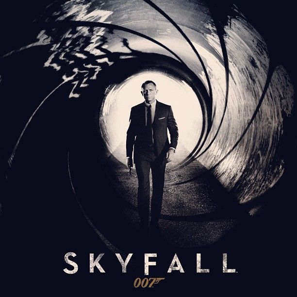 """#NowPlaying ♫ Skyfall - ADELE. """"Here's a collection of themes from each of the previous movies in the James Bond saga. Feel free to add any more songs that remind you of the legendary MI6 operative.  Happy 50th Mr. Bond, we'll drink to that."""" posted via @instatuneapp #instatuneme #adele #007 #jamesbond #skyfall #music"""