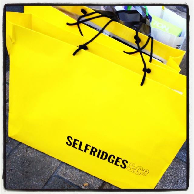 Selfridges | London | Pinterest | Yellow Bags, Yellow and Bags
