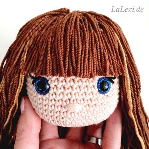 LaLexi: Häkelpuppen-Haar-Tutorial