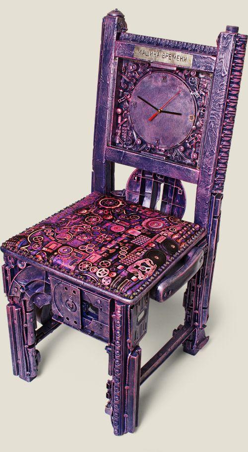 стул Машина времени, купить в интернет магазине в Москве, оригинальные и необычные подарки