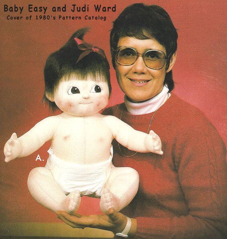 Fácil de bebé - Muñeca y ropa de época patrones de Judi Ward,