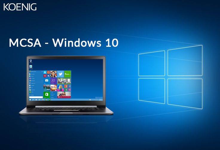 Earning #MCSAWindows10 #certification qualifies you for a position as a computer support specialist