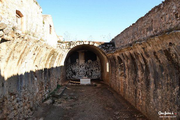 La poudrière du monastère d'Arkadi - Crète - Grèce
