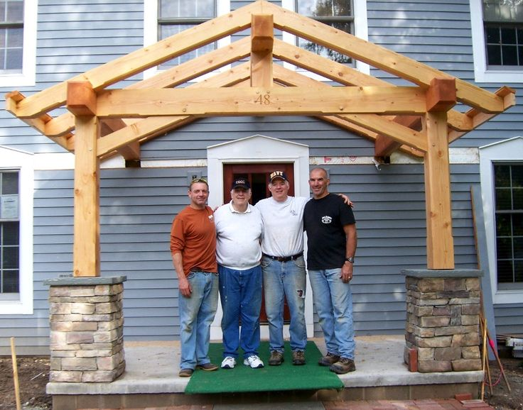 Timber frame porch google search projects to try for Timber frame porch designs