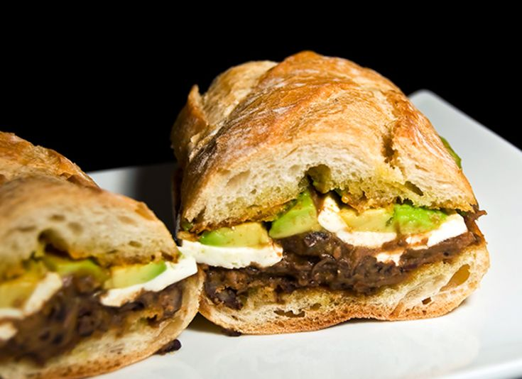 Mexican Tortas With Chorizo And Black Beans