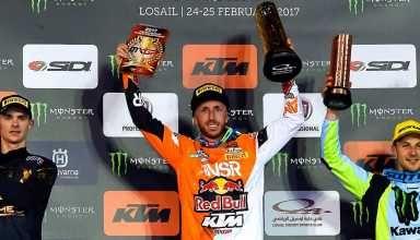 Buona la prima in Qatar per Tony Cairoli! - http://www.canalesicilia.it/buona-la-qatar-tony-cairoli/ Motocross, News, Qatar, Tony Cairoli