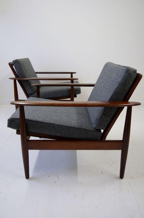 Pair of Danish rosewood armchairs | OSI MODERN