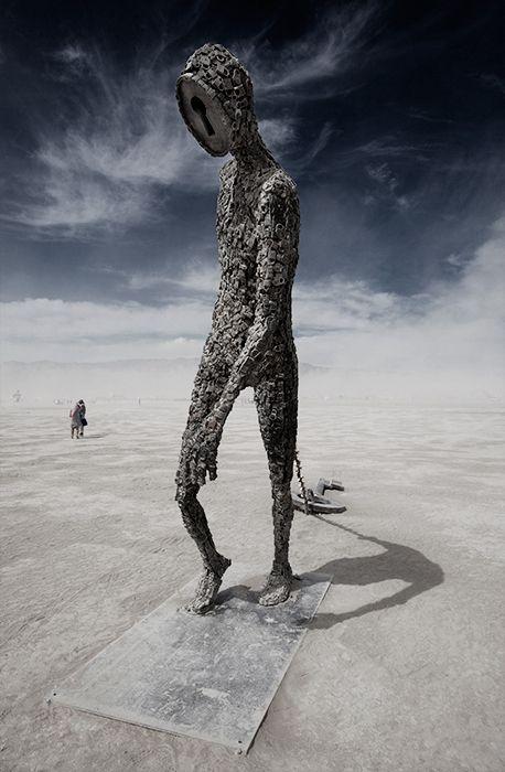 Burning Man 2009 Part II by Hector Santizo, via Behance