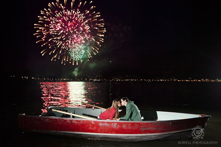 Canada Day Pre-Wedding Engagement - Rowell Photography - Wedding