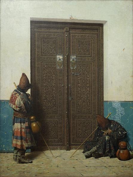 Верещагин В.В. У дверей мечети
