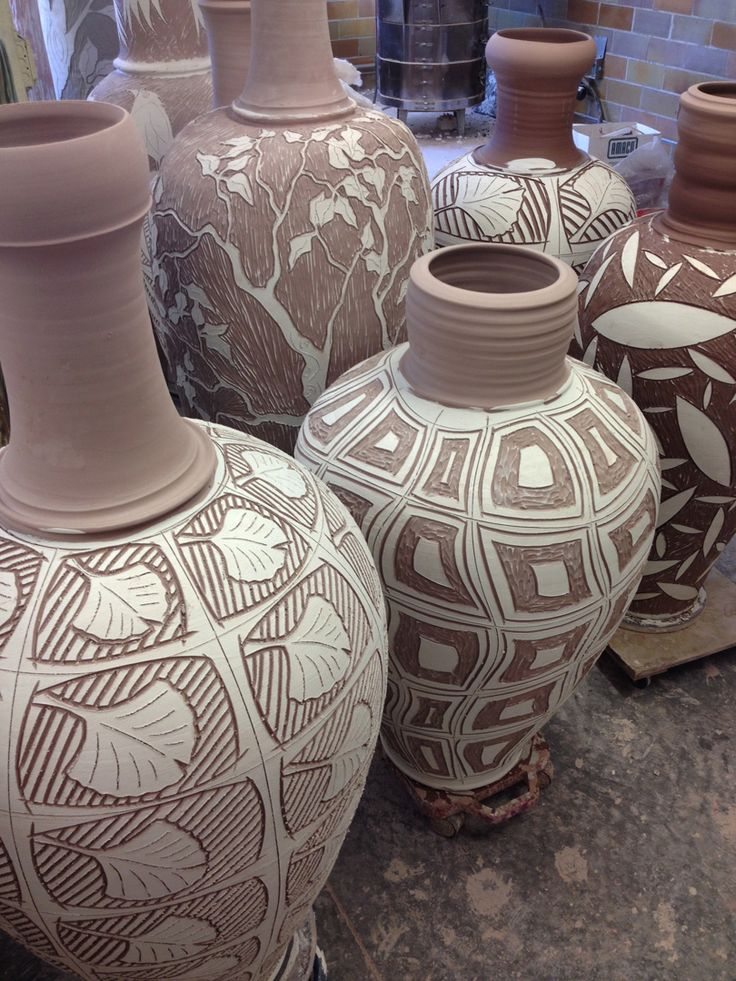 146 Best Images About Sgraffito Ceramics On Pinterest