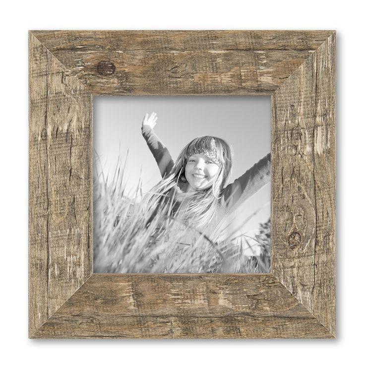 15er Bilderrahmen-Set Strandhaus Rustikal Eiche-Optik Natur Massivholz 10x10 bis 20x30 cm inklusive Zubehör zur Gestaltung einer Collage / Bildergalerie – Bild 7
