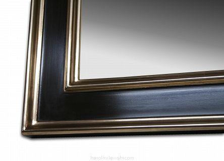 Picture frame 014 moon gold on plum bole - Shop online