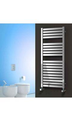 Reina Aosta Stainless Steel Bathroom Heated Towel Rail Radiator - Satin