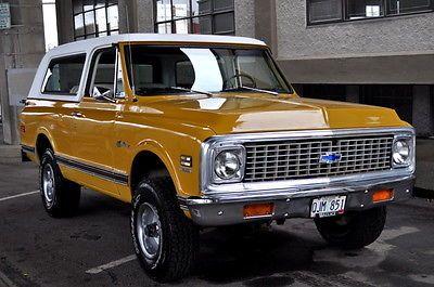 "Chevrolet K5 Blazer - ochre and white | The future of ""the blaze"" | Pinterest | For sale ..."
