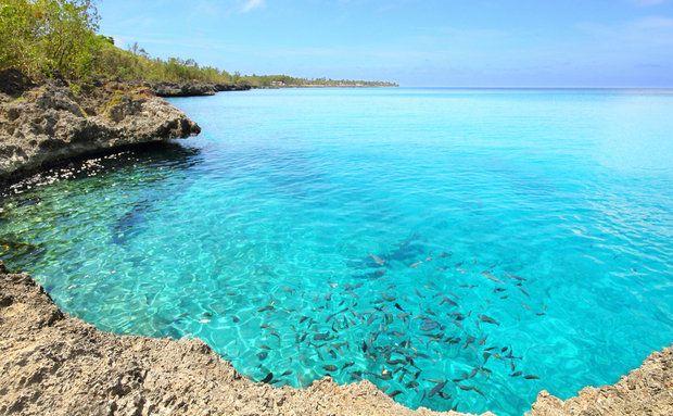 La Piscinita é uma piscina natural, com peixes multicoloridos, bastante procurada para mergulho com máscara e snorkel