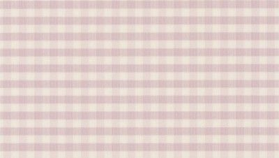 Gingham Check Pale Pink (451726) - Albany Wallpapers - An all over wallpaper featuring a simple gingham check. Shown here in pale pink. Other colourways are available. Please request a sample for a true colour match. Paste-the-wall product.