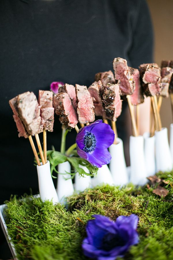 17 best ideas about rustic food display on pinterest for Canape ideas for weddings