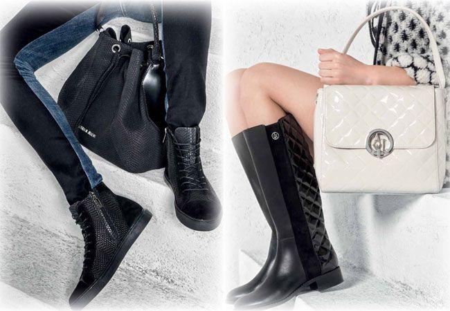 Armani Jeanspresenta una collezione scarpe autunno inverno 2015-2016che riproduce in veste originale i trend più popolari della stagione che danno forma a dei modelli moderni dal mood grintoso at...