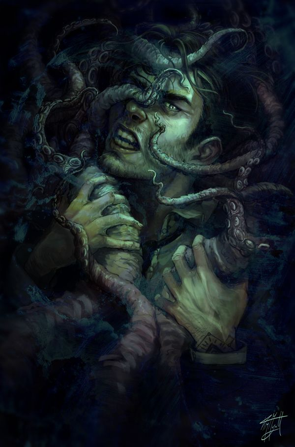 Idris by Ysvyri H. P. Lovecraft monster beast creature ...