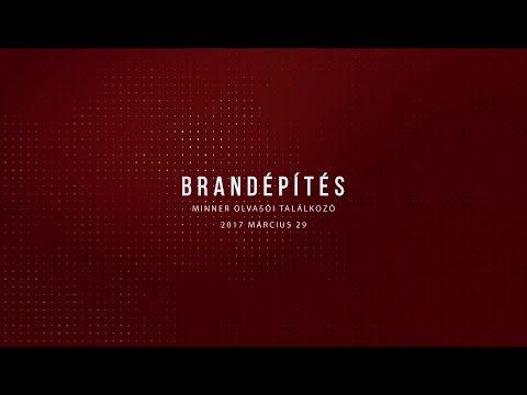 Brandépítés - YouTube