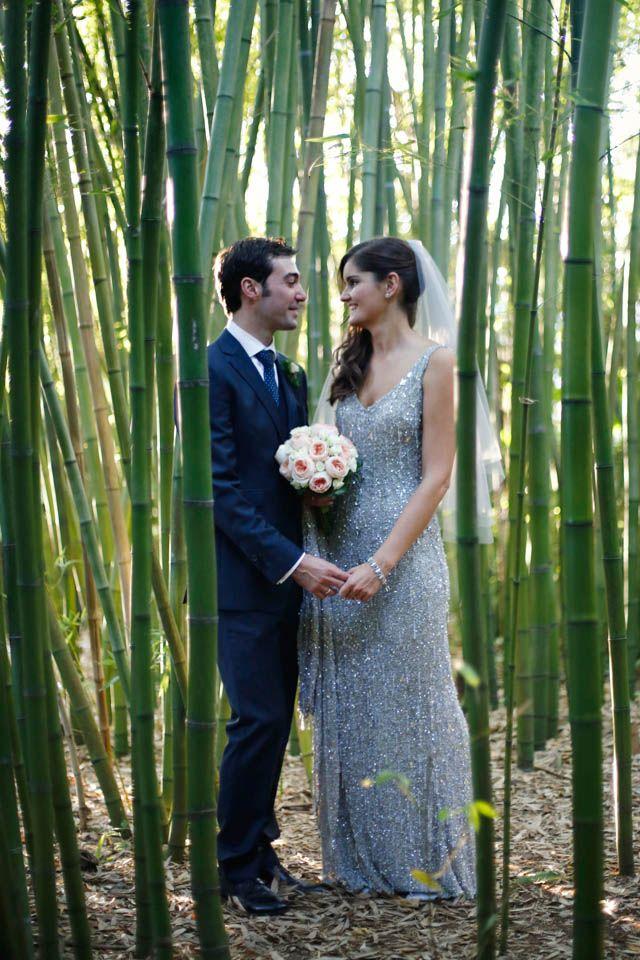 La boda botánica de Alba y Fernando en Vigo