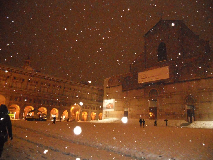 Bologna in the snow