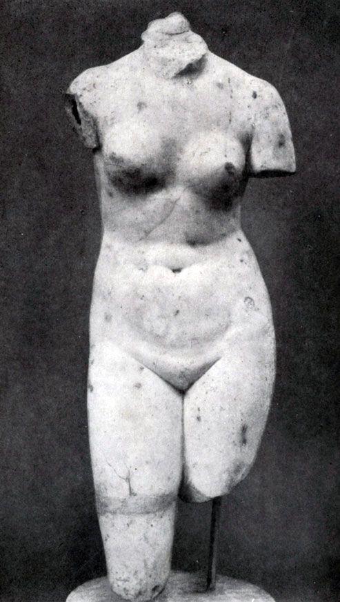 Афродита Хвощинского. Мрамор.