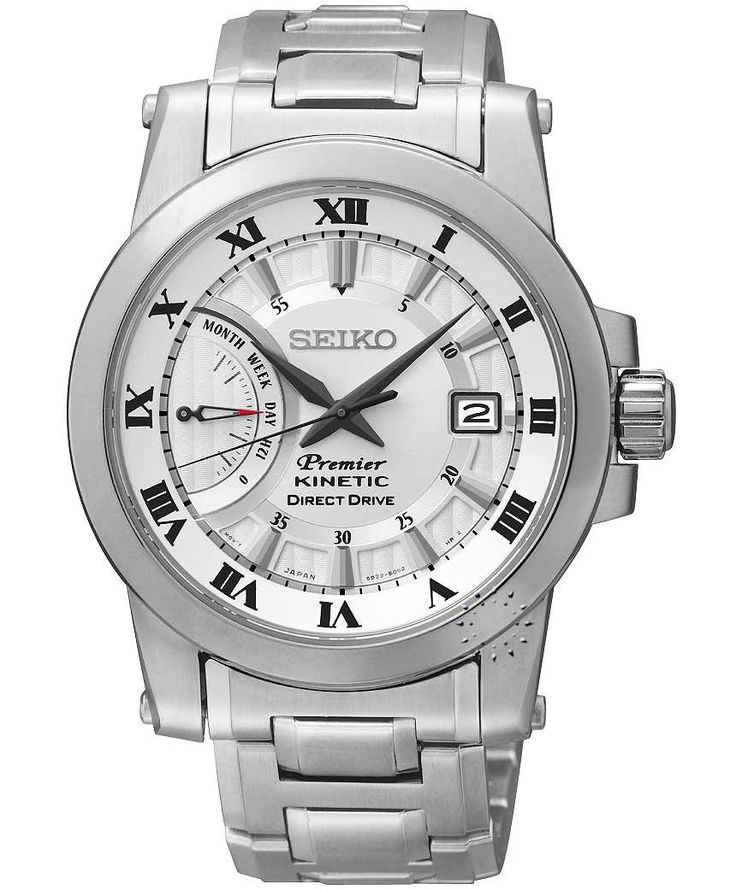SEIKO Premier Kinetic Direct Drive Η τιμή μας: 569€ http://www.oroloi.gr/product_info.php?products_id=34398