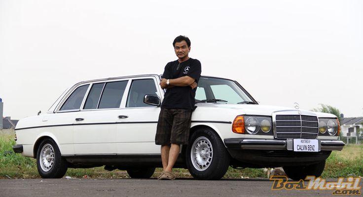 Restorasi Mercedes-Benz 250 LWB (W123) 1977 : Tubuh Panjang Mencuri Pandang