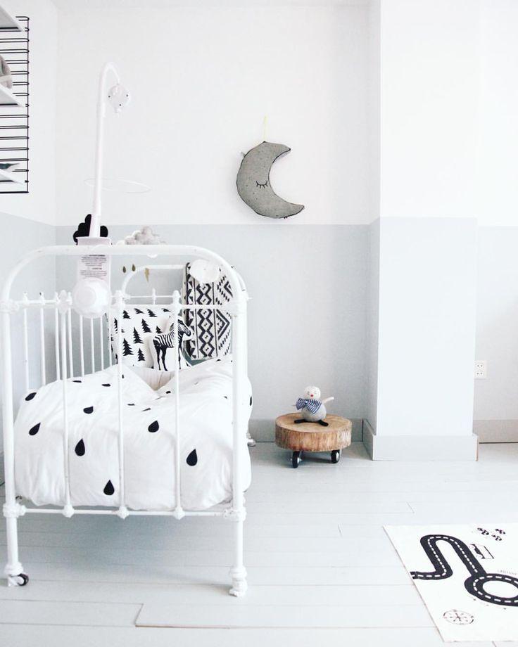 Adorable monochrome nursery