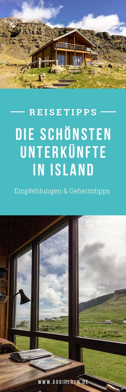 Islands schönste Unterkünfte: Empfehlenswerte Hotels, Bed and Breakfasts, Zeltplätze und Hostels in Island. Mit meine Übernachtungstipps wird Deine Reise unvergesslich.