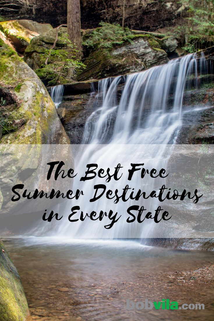 The Best Free Summer Destination In Every State Free Summer