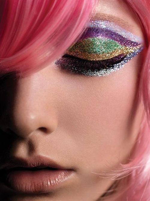 Glitter #makeup