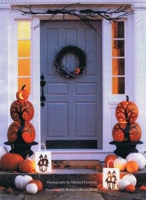 Halloween Urn Decorations Glamorous 38 Best Halloween Planters Images On Pinterest  Halloween Design Ideas