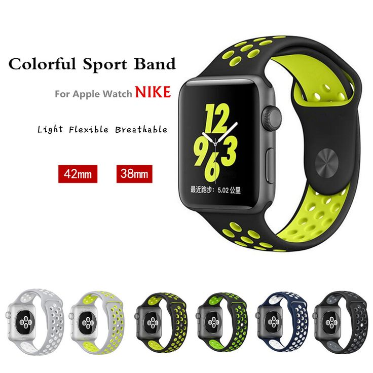 $7.18 (Buy here: https://alitems.com/g/1e8d114494ebda23ff8b16525dc3e8/?i=5&ulp=https%3A%2F%2Fwww.aliexpress.com%2Fitem%2F10-Official-colors-sport-Silicone-strap-for-iwatch-Series1-2-NIKE-apple-watch-band-42mm-38mm%2F32756944054.html ) sport band strap for iwatch 2 apple watch NIKE 42mm/38  correa bracelet Silicone watchband 1: 1 original pulseira With Adapter  for just $7.18