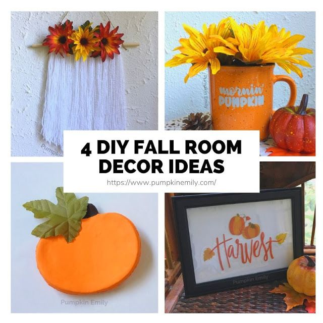 4 Easy Cheap Diy Fall Room Decor Ideas Fall Room Decor Diy