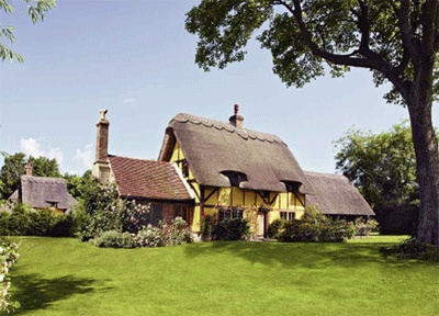 Drayton St Leonard in Oxfordshire, dating from the mid-16th century