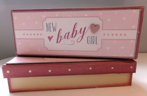 New Baby Girl Gift Box by East of India