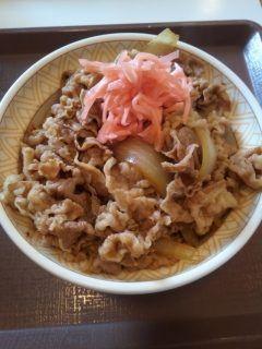 今日はすき家高松寿町店で遅い夕食です しかしたまに食べるとおいしいです 吉野家よりもすき家のほうが好きです tags[香川県]