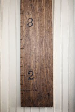 giant ruler for charting children's growth
