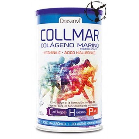 El Colageno Marino Collmar Drasanvi, a base de colágeno hidrolizado, ácido hialurónico y vitamina C, se indica para la piel, uñas, articulaciones, huesos...