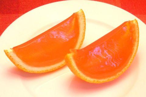 how to make jello shots in orange slices