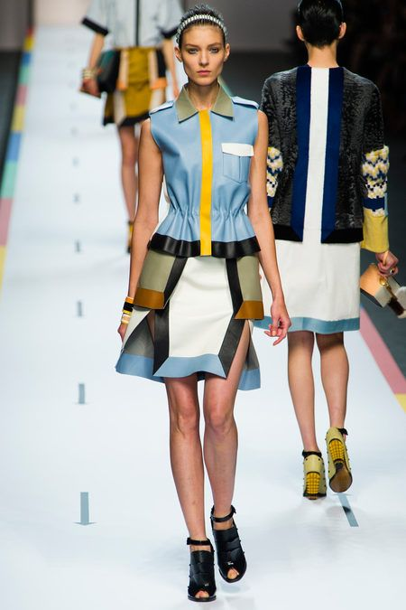 Fendi Spring 2013 Ready-to-Wear Collection Slideshow on Style.com