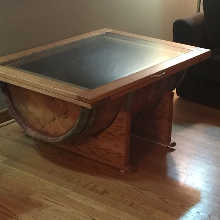 25 Best Ideas About Barrel Coffee Table On Pinterest