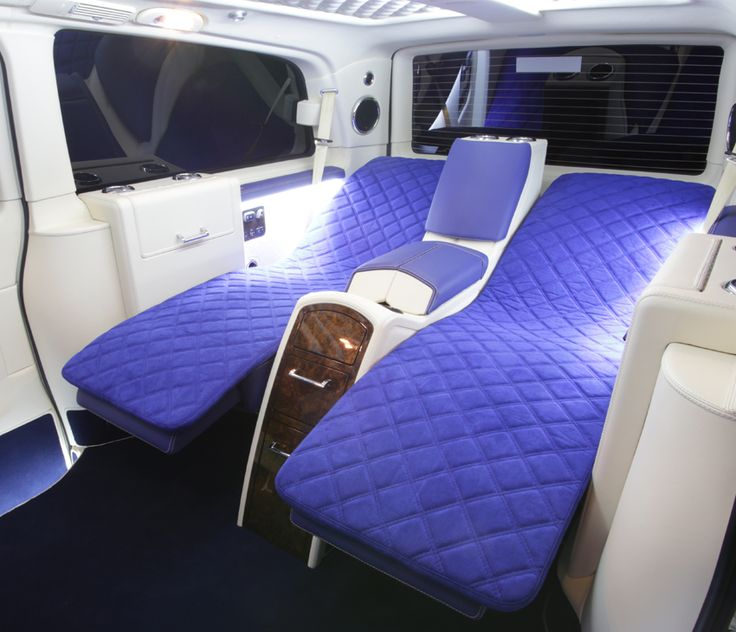 Seats To Beds In Mercedes Van Conversion Kişiye 214 Zel Ara 231
